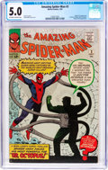 Silver Age (1956-1969):Superhero, The Amazing Spider-Man #3 (Marvel, 1963) CGC VG/FN 5.0 Off-white to white pages....