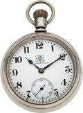 Timepieces:Pocket (pre 1900) , Ball Hamilton Official O of RC Standard 17 Jewel 18 Size. ...
