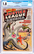Silver Age (1956-1969):Superhero, The Brave and the Bold #28 Justice League of America (DC, 1960) CGC GD- 1.8 Light tan to off-white pages....