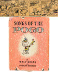 Animation Art:Limited Edition Cel, Walt Kelly Pogo Comic Strip Original Art and Song Book (WaltKelly, 1952/56).... (Total: 2 Items)