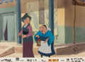 Animation Art:Limited Edition Cel, Mulan Employee Only Presentation Limited Edition Cel #12/19(Walt Disney, 1998)....