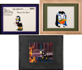 Animation Art:Production Cel, DuckTales Magica De Spell Production Cels and Color Model Cel Group of 3 (Disney, 1986).... (Total: 3 Original Art)