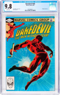Modern Age (1980-Present):Superhero, Daredevil #185 (Marvel, 1982) CGC NM/MT 9.8 White pages....