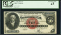 Large Size:Silver Certificates, Fr. 290 $10 1880 Silver Certificate PCGS Extremely Fine 45.. ...