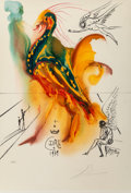 Prints & Multiples, Salvador Dalí (1904-1989). Le grand pavon, 1996. Offset lithograph in colors on Arches paper. 29-5/8 x 20-1/8 inches (75...