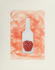 James Rosenquist (1933-2017) Blood in Warm Water, from The Glass Wishes, 1981 Aquatint in colors on Somerset paper