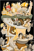 """Animation Art:Seriograph, Dr. Seuss """"Tower of Babel"""" Limited Edition Serigraph #127/475 (TheChase Group, 2004). ..."""