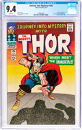 Silver Age (1956-1969):Superhero, Journey Into Mystery #125 (Marvel, 1966) CGC NM 9.4 White pages....