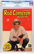 Golden Age (1938-1955):Western, Rod Cameron Western #3 Crowley Copy Pedigree (Fawcett Publications, 1950) CGC VF/NM 9.0 Off-white pages....