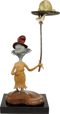 Green Eggs and Ham Limited Edition Bronze Maquette #127/195 (MGM, 2007)