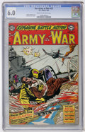 Golden Age (1938-1955):War, Our Army at War #21 (DC, 1954) CGC FN 6.0 Cream to off-whitepages....