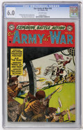 Golden Age (1938-1955):War, Our Army at War #18 (DC, 1954) CGC FN 6.0 Off-white pages....