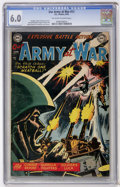Golden Age (1938-1955):War, Our Army at War #11 (DC, 1953) CGC FN 6.0 Off-white to whitepages....