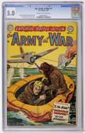 Golden Age (1938-1955):War, Our Army at War #7 (DC, 1953) CGC VG/FN 5.0 Cream to off-whitepages....