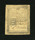 Colonial Notes:Pennsylvania, Pennsylvania April 3, 1772 1s Fine....