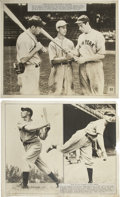 Baseball Collectibles:Photos, Oversized Vintage Baseball Photographs Lot of 12. Tremendous lotgathers a group of impressive oversized prints that depict...