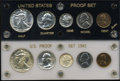 Proof Sets, Uncertified 1941 and 1942 Proof Sets PR63 to PR66.... (Total: 10 coins)