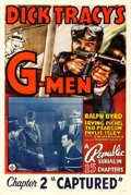 Movie Posters:Serial, Dick Tracy's G-Men (Republic, 1939). One Sheet (27...