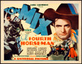 "Movie Posters:Western, The Fourth Horseman (Universal, 1932). Title Lobby Card (11"" X14"").. ..."
