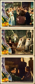 """Movie Posters:Horror, Frankenstein Meets the Wolf Man (Universal, 1943). Lobby Cards (3)(11"""" X 14"""") Karl Godwin Artwork.. ... (Total: 3 Items)"""