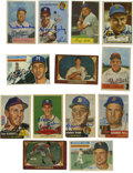 Autographs:Sports Cards, 1952-56 Topps/Bowman Signed Cards Group Lot of 57. Vast array of 57baseball cards from some of the best issues in the hobb...