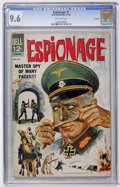 Silver Age (1956-1969):War, Espionage #1 File Copy (Dell, 1964) CGC NM+ 9.6 Off-white pages....