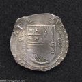 Mexico: , Mexico: Felipe III 8 Reales (1598-1621) ND Mo-F, KM44.1, Calbeto614, VF, unevenly struck but with considerable details readable in...