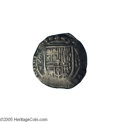 Mexico: , Mexico: Felipe III 8 Reales 1612-Mo-F, KM44.3, Calbeto 628, VF,very attractive toning and displaying a bold mintmark and assayer.A...