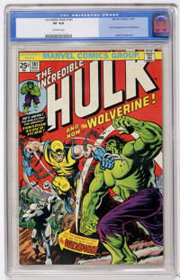 The Incredible Hulk #181 (Marvel, 1974) CGC VF 8.0 Off-white pages