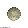 Mexico: , Mexico: Carlos III Pillar 8 Reales 1770-FM, KM105, lustrous XF-AU,lightly cleaned, with prooflike surfaces....