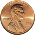 Lincoln Cents, 1983 1C Doubled Die Reverse MS68 Red NGC....