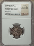 Ancients:Ancient Lots  , Ancients: ANCIENT LOTS. Roman Imperial. Ca. AD 270-282. Lot ofthree (3) BI antoniniani. NGC VF-AU.... (Total: 3 coins)