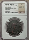 Ancients:Ancient Lots , Ancients: ANCIENT LOTS. Roman Provincial. Ca. AD 161-250. Lot oftwo (2) AE units. NGC VF-XF.... (Total: 2 coins)