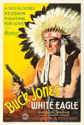 "Movie Posters:Western, White Eagle (Columbia, 1932). One Sheet (27"" X 41"").. ..."