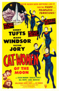 Movie Posters:Science Fiction, Cat-Women of the Moon (Astor Pictures, 1954). One ...