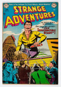 Golden Age (1938-1955):Science Fiction, Strange Adventures #28 (DC, 1953) Condition: FN/VF....