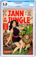 Silver Age (1956-1969):Adventure, Jann of the Jungle #10 (Atlas, 1956) CGC VG/FN 5.0 Cream to off-white pages....