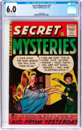 Golden Age (1938-1955):Horror, Secret Mysteries #18 (Ribage Publishing, 1955) CGC FN 6.0 Cream tooff-white pages....