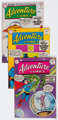 Adventure Comics Group of 17 (DC, 1953-61) Condition: FN+.... (Total: 17 Comic Books)