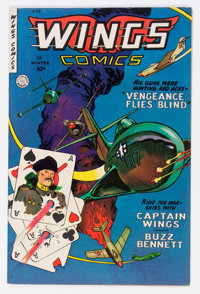 Wings Comics #118 (Fiction House, 1952) Condition: Apparent VF/NM