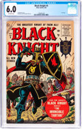 Silver Age (1956-1969):Adventure, Black Knight #5 (Atlas, 1956) CGC FN 6.0 Off-white pages....