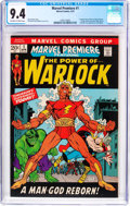 Bronze Age (1970-1979):Superhero, Marvel Premiere #1 (Marvel, 1972) CGC NM 9.4 Off-white to whitepages....
