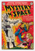 Golden Age (1938-1955):Science Fiction, Mystery in Space #4 (DC, 1951) Condition: VG/FN....