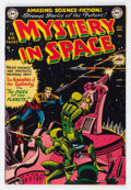 Golden Age (1938-1955):Science Fiction, Mystery in Space #3 (DC, 1951) Condition: VG/FN....