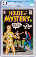 Silver Age (1956-1969):Horror, House of Mystery #84 (DC, 1959) CGC VF- 7.5 Off-white to whitepages....