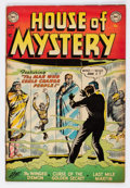 Golden Age (1938-1955):Horror, House of Mystery #15 (DC, 1953) Condition: FN....
