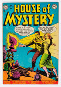 Golden Age (1938-1955):Horror, House of Mystery #10 (DC, 1953) Condition: FN....