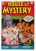 Golden Age (1938-1955):Horror, House of Mystery #8 (DC, 1952) Condition: FN....