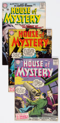 Silver Age (1956-1969):Horror, House of Mystery #60-66 Group (DC, 1957) Condition: AverageFN/VF.... (Total: 7 Comic Books)