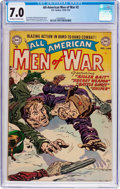 Golden Age (1938-1955):War, All-American Men of War #2 (DC, 1952) CGC FN/VF 7.0 Off-white towhite pages....